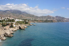 Sea View From Nerja ( Spain ) Royalty Free Stock Photography