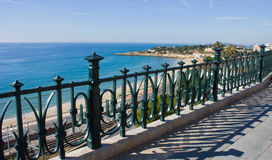Sea View From The Balconi. Royalty Free Stock Photography