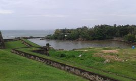 Sea view from Galle fort Stock Photography