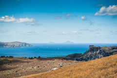 Sea view on the Greek Islands Stock Photography