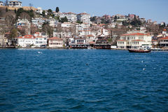 Sea view from the house , Istanbul Stock Images