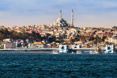 Sea view in Istanbul, Turkey Stock Photo