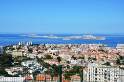 Sea view from Italy Royalty Free Stock Image