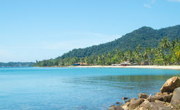 Sea view kho chang islands. In thailand stock photos