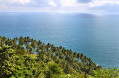 Sea view of Koh Phangan Royalty Free Stock Photography
