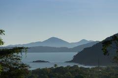 Sea view. Mountain and sea view Royalty Free Stock Photos