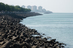 Sea view of Mumbai, India Stock Photography