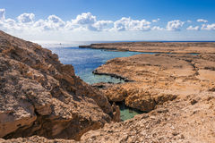Sea view in Ras Mohamed National Park Royalty Free Stock Images