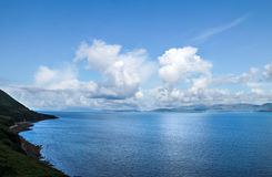Sea view at the Ring of Kerry Royalty Free Stock Photography