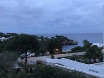Sea view. In Mallorca Stock Photography