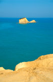 Sea view in Sidari Royalty Free Stock Images