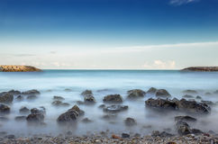 Sea view Sitges Spain Royalty Free Stock Image