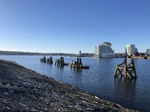 Cardiff bay royalty free stock images