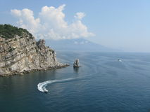 Sea. View from the Swallow's Nest Royalty Free Stock Image