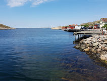 Sea view. View of the sea on the Swedish west coast Royalty Free Stock Photos