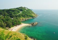 Sea view in thailand Royalty Free Stock Photo