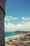 Sea view from the top Stock Photography