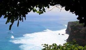 Sea view. At uluwatu temple bali Stock Images