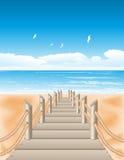 Sea view Stock Image