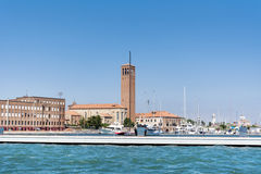 Sea view of Venice ,Italy Stock Image