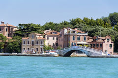 Sea view of Venice ,Italy Stock Photography