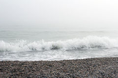 Sea view in the winter Stock Photography