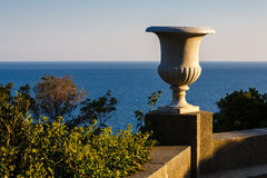 Sea views from the terrace of Vorontsov Palace Stock Photos