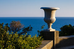 Sea views from the terrace of Vorontsov Palace Stock Photography