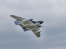 Sea Vixen vintage aircraft Royalty Free Stock Photography