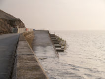 Sea wall. Blackpool Royalty Free Stock Photo