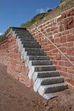 Sea wall Stock Photo