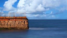 Sea Wall Royalty Free Stock Image