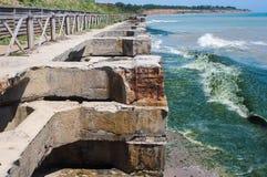 Sea wall Stock Photography
