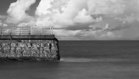 Sea Wall Royalty Free Stock Images