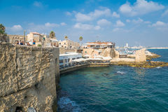 Sea walls. Acre Royalty Free Stock Photo