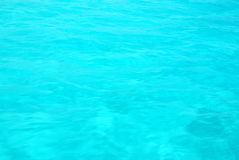 Sea water. Beautiful turquoise clear water of a tropical sea - background Royalty Free Stock Images