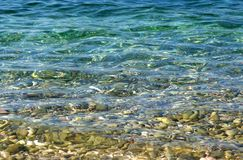 Sea water. Royalty Free Stock Photo