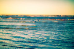 Sea water background Stock Photography