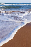 Sea water and the beach Royalty Free Stock Photos
