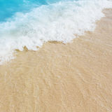 Sea water and the beach Stock Photography