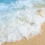 Sea water and the beach Royalty Free Stock Images
