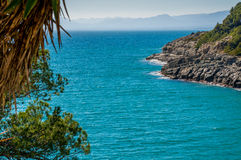 Sea Water coast of Spain Royalty Free Stock Photography
