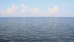 Sea water daylight time stock video