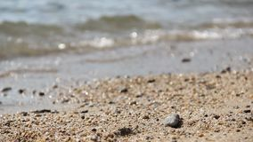 Sea water. In Greece, nature stock footage