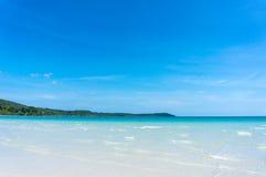 Sea water of Koh Kood, Thailand sea Royalty Free Stock Photography