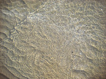 Sea water next to the beach royalty free stock image