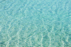 Sea Water Rippled Stock Photography