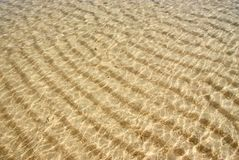 Sea Water Ripples Royalty Free Stock Photo