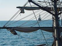 Sea, Water, Sailing Ship, Sail royalty free stock images