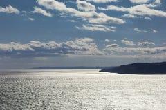 Sea water shining Royalty Free Stock Photography